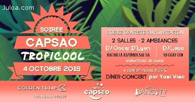 Soirée CAPSAO - Tropicool