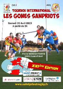 XXIeme Tournoi international - 'Les Gones Sanpriots'